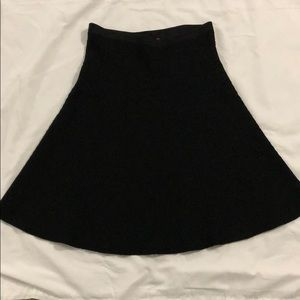 CAbi Amelie black skirt